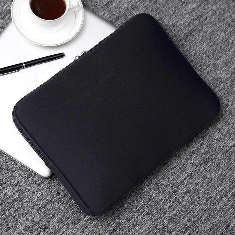 لينة محمول شنطة لحمل macbook الهواء برو الشبكية 11 12 13 14 15 15.6 كم حالة جراب هاتف شاومي ديل لينوفو الكمبيوتر المحمول كمبيوتر محمول