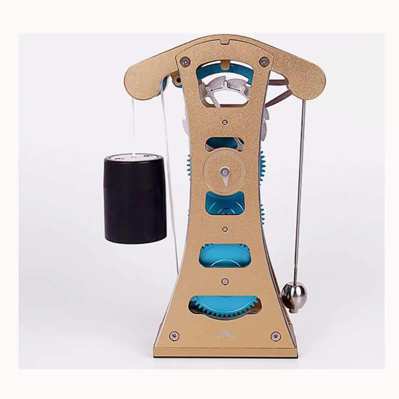 Galileo Pendulum Clock 3D Metal Assembled Model Adult Toy Alloy Assembly Model цена