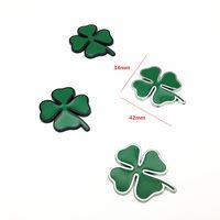 diy car 2pcs/lot Four Leaf Clover Metal Badge Emblem Motorcycle Car Stickers DIY Decoration for Alfa Romeo Giulia Stelvio Car-Styling (2)