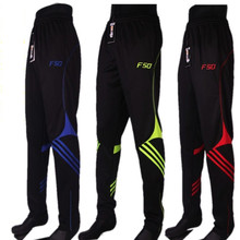 Tracksuit polyester skinny jogging soccer leg football trousers training slim professional
