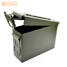 30% Off 30Cal Metal Ammo Can Waterproof All-Metal tools Boxes Long Term Storage Bullet box Lithium battery explosion-proof box цена