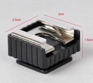 """Image 3 - Jadkinsta Adaptador de montura de zapata de Metal Flash novedoso, rosca de tornillo de 1/4 """"para trípode de estudio con soporte para luz, accesorios para cámara"""