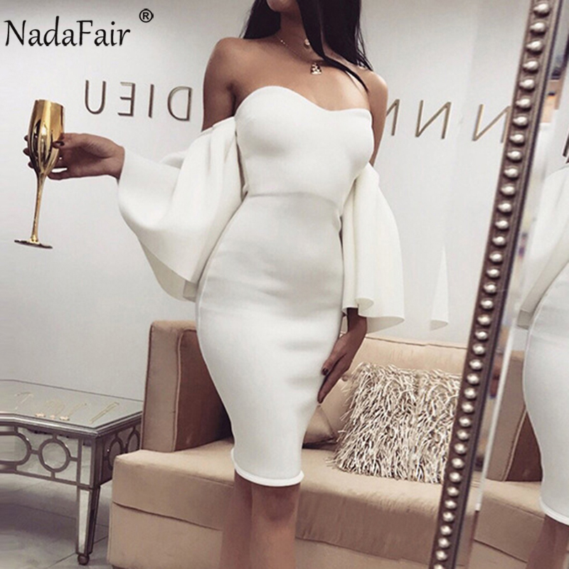 Buy off shoulder ruffles bodycon mini dress and get free shipping on  AliExpress.com 5519557fa