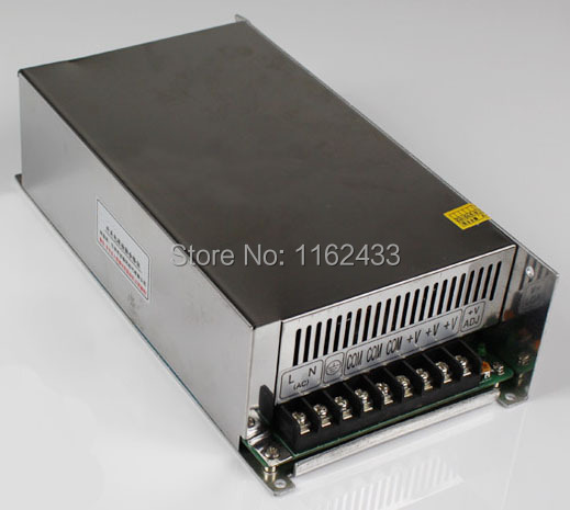 S-600-5 600W 5VDC 80A single group switching power supply AC 110V / 220V to DC 5VS-600-5 600W 5VDC 80A single group switching power supply AC 110V / 220V to DC 5V