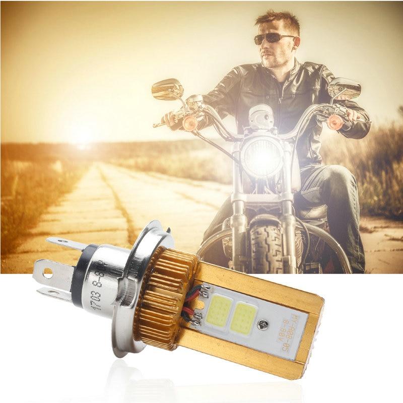H4 led moto phare ampoules cob led 8-80 v 1000lm h/l lampe scooter atv moto accessoires feux de brouillard 6000 k xenon blanc florylis концентрат с витамином е масляная субстанция florylis ampoules ampoules bc0180 10 3 мл