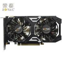 Оригинальные ZOTAC GeForce GTX 950 2GD5 Thunder TSI PA видео карты GDDR5 Графика карты для nVIDIA Map GTX950 GTX 950 2 ГБ используется