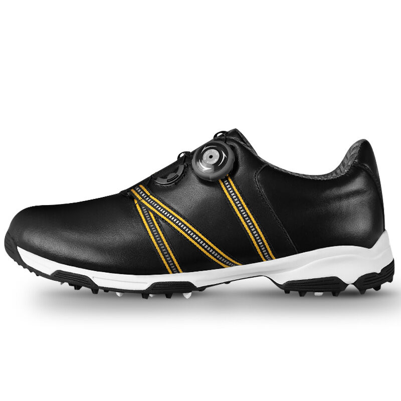 New 2017 Men Golf Shoes Genuine Leather Anti-skid Waterproof Breathable Sports Sneakers mens women golf shoes genuine leather shoes british style waterproof breathable free shipping