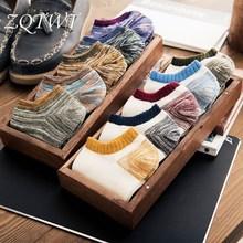 ZQTWT 5Pair Lot Hot Socks Men Unisex Meias Cotton Star Sock Casual Harajuku Socks for Women