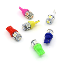 Car LED T10 5050 SMD fit for toyota corolla camry avensis rav4 yaris toyota Car Side Wedge Tail Light Lamp Bulb car-styling