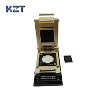EMMC Test Socket To SD Interface Nand Flash Pogo Pin BGA153 BGA169 Reader Size 14x18mm Pitch