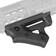 Taktische CL19 Dreieck Grip Nylon Daumen Airsoft Grip Für 21mm 22mm Breite Schiene schwarz Spielzeug Pistole Jagd Zubehör