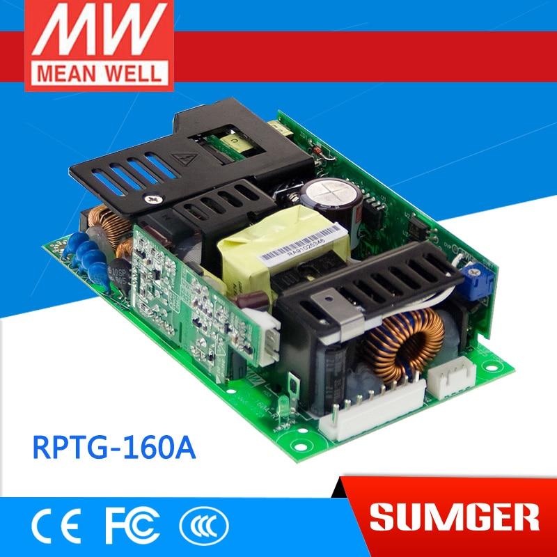 все цены на  1MEAN WELL original RPTG-160A meanwell RPTG-160 145W Triple Output Medical Type G: With 5Vsb  онлайн