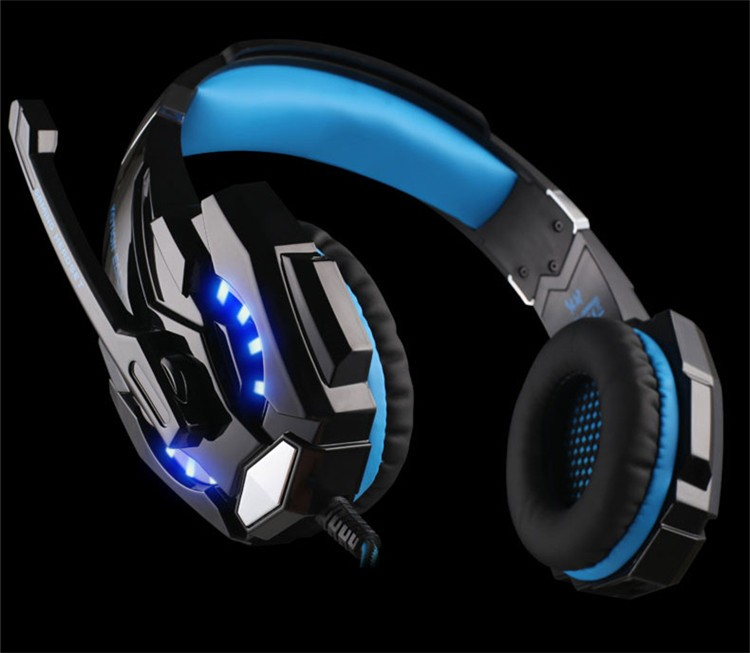 G9000 USB 7.1 Surround Sound Version Game Gaming Headphone Computer Headset Earphone Headband with Microphone LED Light (13)
