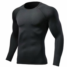 New mens sports suit quick-drying compression runner fitness training running