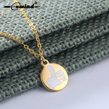 Cxwind Hip Hop Gold Silver Color Thumbs Up Sign Necklaces & Pendants Chain Stainless Steel Necklace Jewelry For Man Women Bijoux(China)