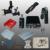 Pistolas de tatuaje kits completos Tatuaje negro máquina de tatuaje máquina de alimentación aguja desechable envío libre 1100635-1kitA