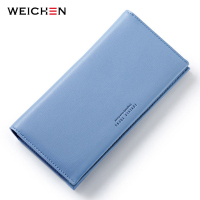 Women Elegant Long Wallet Clutch Purses, Female Portable Multifunction Long Solid Card Coin Change Purse Bags Lady