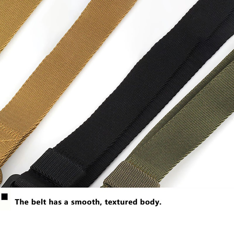 HTB1MDDsUHrpK1RjSZTEq6AWAVXan - Tactical Belts Nylon Military Waist Belt with Metal Buckle Adjustable Heavy Duty Training Waist Belt Hunting Accessories