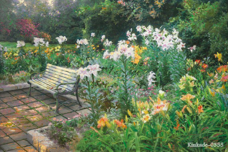 Garden Bed Bench