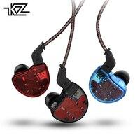 Original KZ ZS10 In Ear Earphone 4BA+1DD 10 Driver Unit Hybrid Technology Earbuds Heavy Bass DJ Monito Running Sport Headset