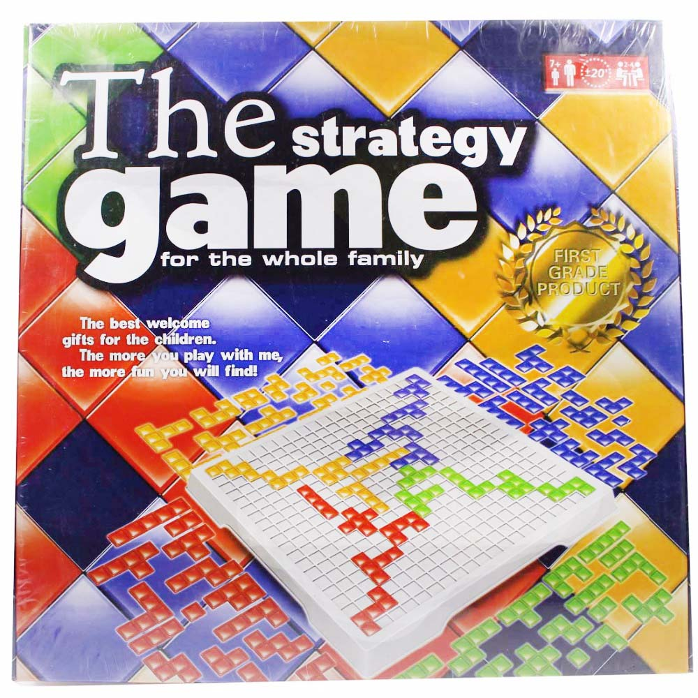 Intellectual Puzzle Blokus Board Game English Version Party Games For Children Toy Kids Tos Family Game 2 Player/4 Player Set