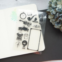 Industrial Age Design Clear Transparent Stamp Silicone Stamps As Scrapbooking Decoration DIY Card Paper Gift Use