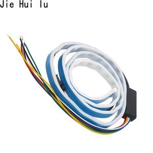 Image 3 - 車追加停止ライトダイナミックストリーマフローティング LED ストリップ 12v 自動トランクテールブレーキランニングターン信号ランプ