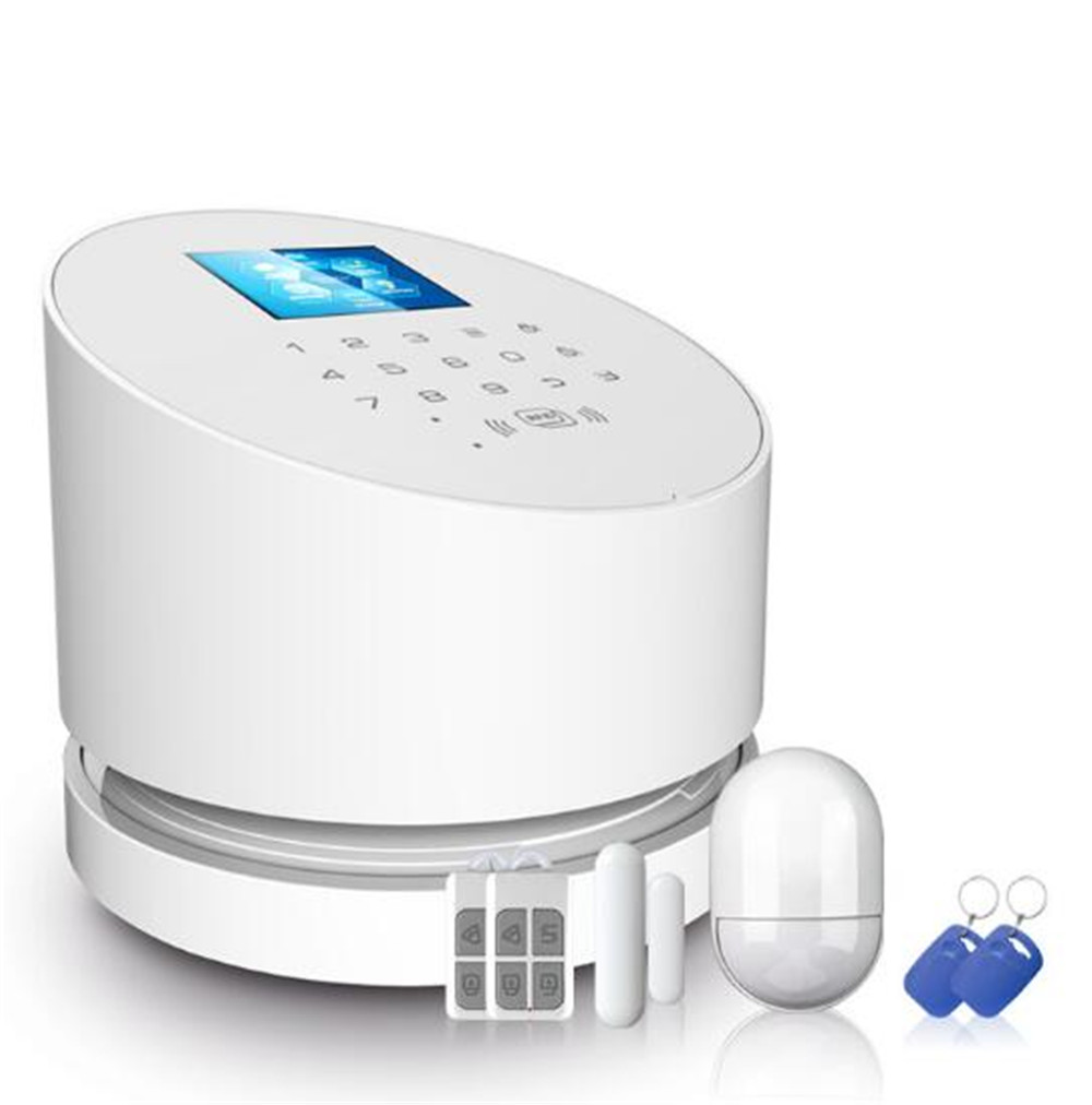 Wifi GSM+PSTN Wireless alarm Panel IOS andorid APP Remote Control RFID Disalarm Security Burglar Alarm System