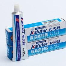 2 шт. K-609 полимерный Жидкий Герметик высокая термостойкость Металл маслостойкий резьба изоляция водонепроницаемый герметик 80 г