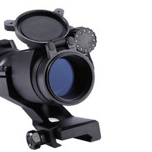 Big discount Outdoor Hunting Red Green Dot 32mm Sighting Telescope Laser Gun Sight with Reflex Scope for Picatinny Riflescopes