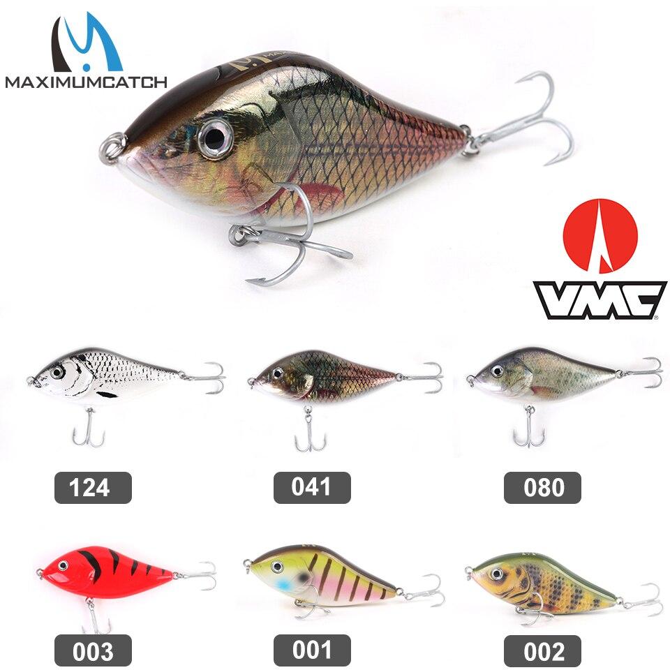Maximumcatch Jerkbait Pike Fishing Lure 47g 100mm With VMC Hook Jerk Bait Hard Bass Pike Lure