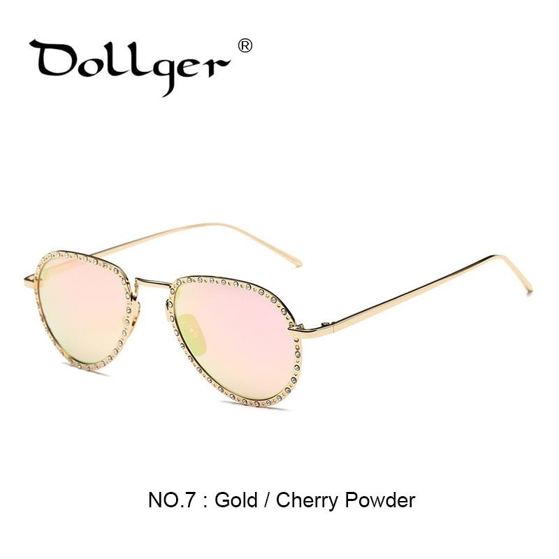 0589cda949e5aa Dollger Vintage Diamant Pilote lunettes de Soleil Femmes 2017 Lunettes de  Soleil femmes lunette de soleil luxe femme lunettes de soleil gafas de sol  s1349 ...