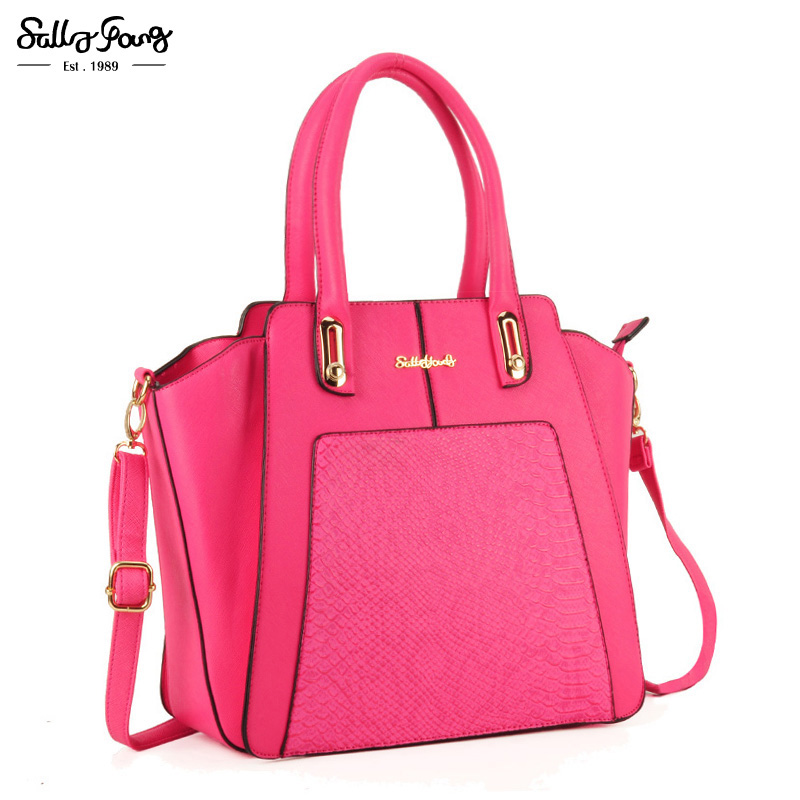 2017 Sally Young International Brand Fashion Patchwork Women Messenger Bag Solid Lady Trapeze Shoulder Handbags 4 Color SY1619 free shipping new fashion brand women s single shoulder bag lady messenger bag litchi pattern solid color 100