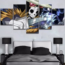 Framed 5 Piece HD Print One Anime Poster Cuadros Decoracion Paintings on Canvas Wall Art for Home Decorations Decor