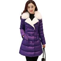 OKXGNZ-Winter-Coat-Jacket-2017Korea-StyleNew-Costume-Cotton-padded-Jacket-Coat-Elegant-Fur-Collar-Plus-Size