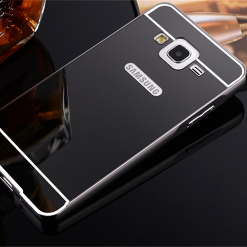 size 40 0b6a1 ae07c US $3.29 |Aluminum Metal Case For Samsung Galaxy Grand Neo Plus I9060i  I9060 Grand duos i9082 Acrylic Mirror Cover Capa Funda Hood-in Fitted Cases  ...