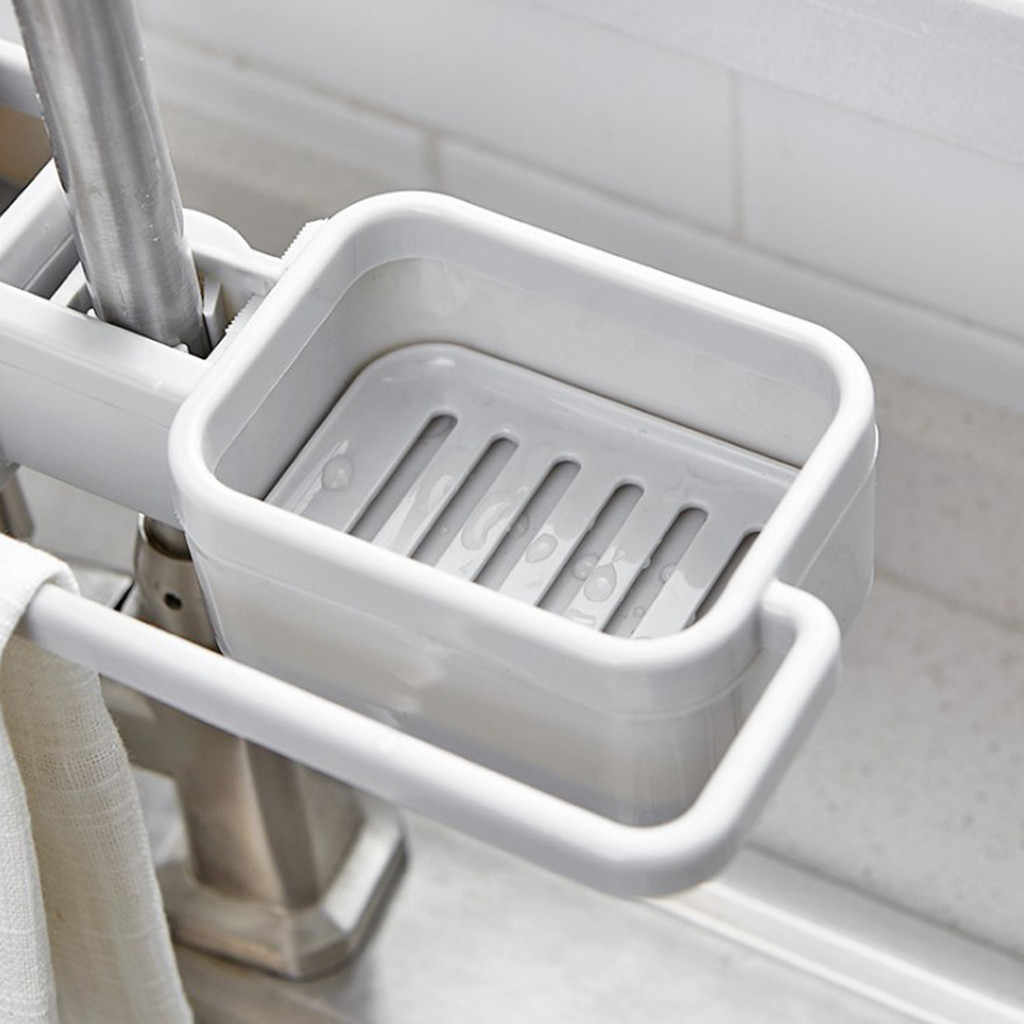 Dropshipping Pia de Drenagem Rack de Cozinha Criativa Ajustável Rack de Armazenamento Pano Cesta de Rack Pendurado titular esponja