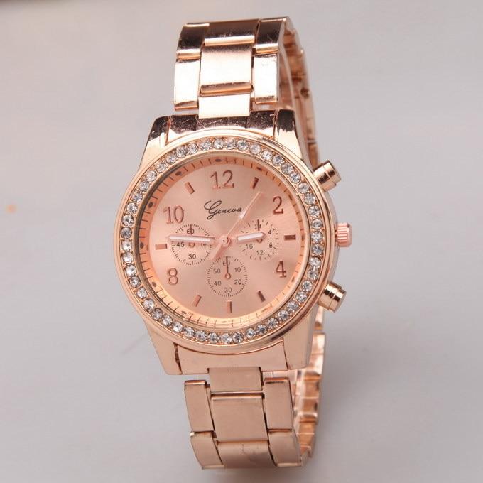 168353c83b9 Sport Women Watch Ladies  Luxury Brand Quartz Geneva Watch Casual Woman  Steel Strap Band  62900