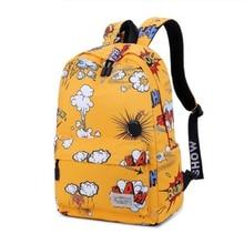 New Printing Backpack School Bags for Teenagers Canvans Men Backpacks Girls Travel Bag Female Mochila