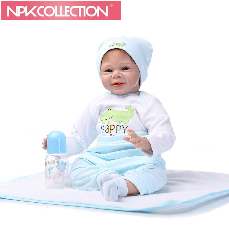 NPK COLLECTION Silicone body reborn baby boy dolls soft silicone vinyl real gentle touch bebe new born real baby Xmas Gift Toy npk new arrival full body silicoen bebe reborn girl dolls soft silicone vinyl real gentle touch bebe new born real reborn baby