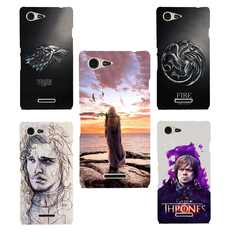 Game of Thrones Daenery Soft silicone Phone Case Fundas For <font><b>Sony</b></font> <font><b>Xperia</b></font> <font><b>E3</b></font> Dual D2203 D2206 D2243 D2202 <font><b>D2212</b></font> printed cover image