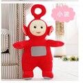 Средний милые плюшевые Телепузики игрушки чучела красный po кукла подарок о 35 см