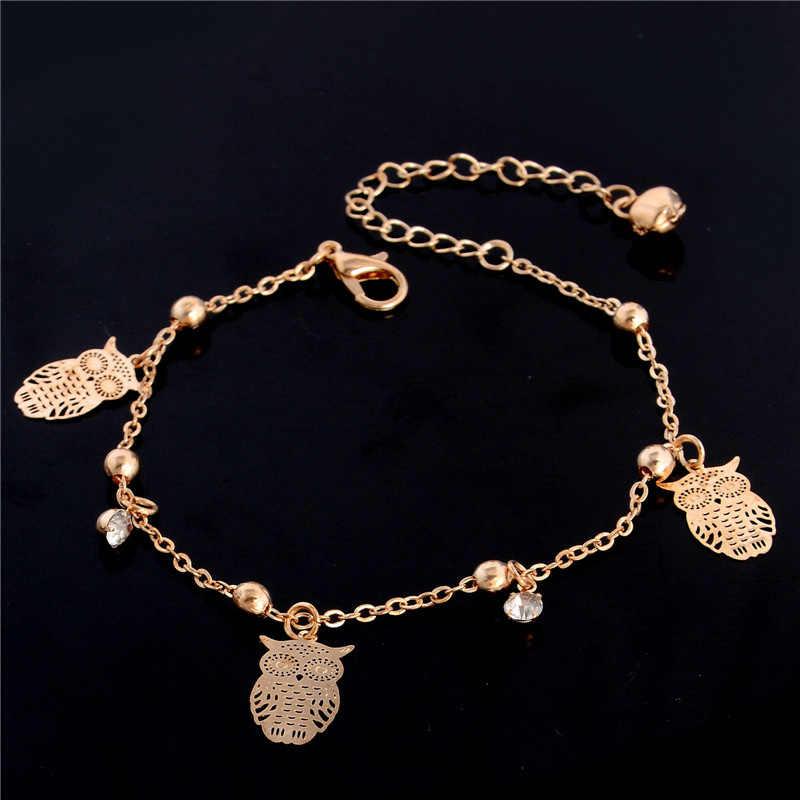 H: hído dulce forma de mariposa Simple tobillera cadena Ankel playa pie sandalia Diomedes para mujer regalo Chain cheville
