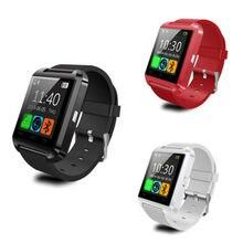 Günstigste Smartwatch Bluetooth Smart Uhr U8 Armbanduhr digitale sportuhr für Android Samsung phone Wearable Elektronische Gerät