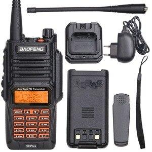 Image 5 - Baofeng UV 9R Plus Waterproof Walkie Talkie 8Watts Two Way Radio Dual Band Handheld 10km long range UV9R CB Ham portable Radio