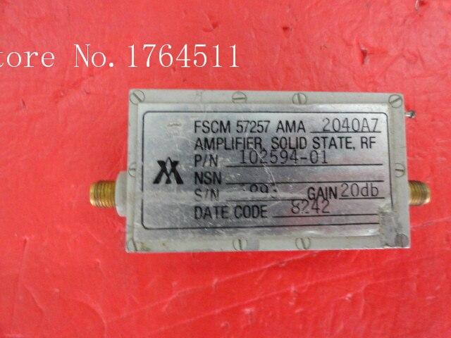 [BELLA] AY 102594-01 G:20dBm SMA Supply Amplifier