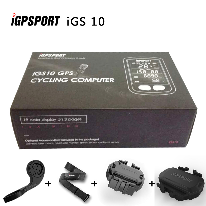 IGPSPORT IGS10T  ANT+ GPS Bluetooth Bicycle Wireless Stopwatch Speedometer Cycling  Bike Computer  Support  Waterproof xcadey bicycle power meter crank power meter bicycle gps computer garmin edge bryton igpsport support ant bluetooth