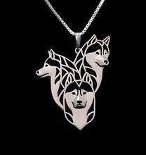Сибирский ожерелье с хаски собака любимый сплав кулон ювелирные