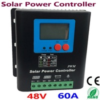 60A Solar Controller PV Panel Battery Charge Controller 48V Solar system Home indoor use solar