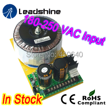 Leadshine PS806 68 VDC  and  6A Continuous at 220 VAC Linear Power Supply 180-250 VAC Input цифровой диктофон olympus ws 806 ws 806